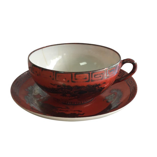 Nippon Cup & Saucer - Image 1 of 4