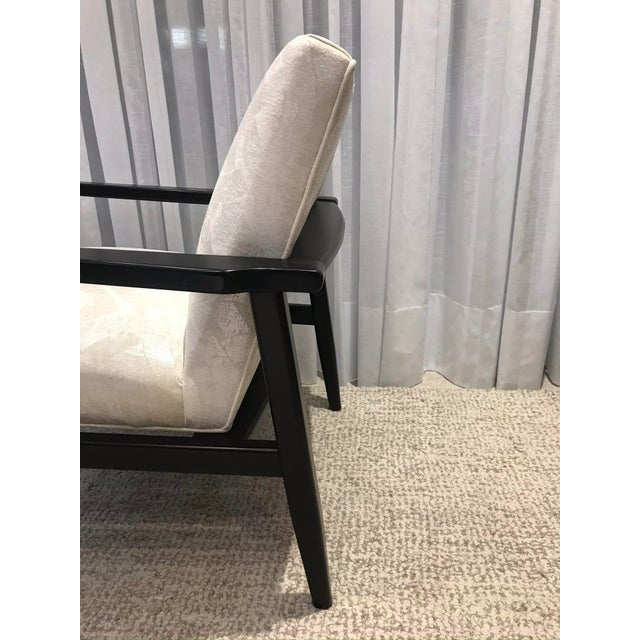 Arhaus Mid-Century Style Chairs by Arhaus - a Pair For Sale - Image 4 of 13