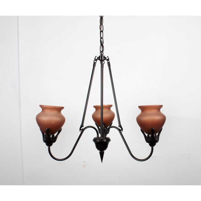 Gothic Gothic Italianate Chandeliers – A Pair For Sale - Image 3 of 6