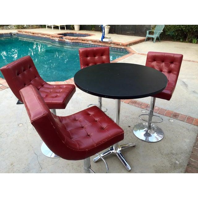 Retro Leather Bar Set - Image 3 of 5