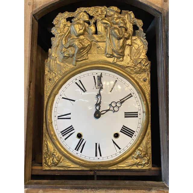 1830 French Provincial Grandfather Clock For Sale In Atlanta - Image 6 of 8