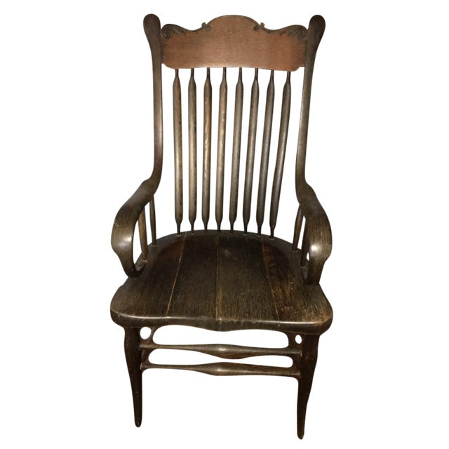 Early American Antique Side Chair - Image 1 of 10