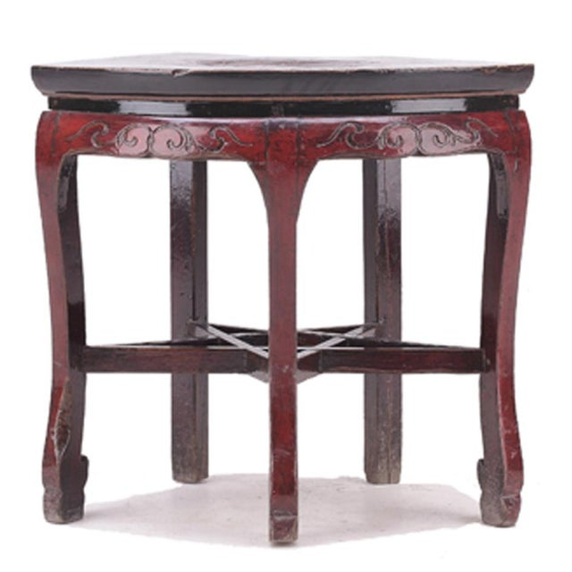 C. 1800 Chinese Side Table - Image 2 of 4