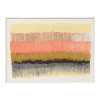 """ColorCake (Grey, Yellow, Apricot)"" Unframed Print For Sale"