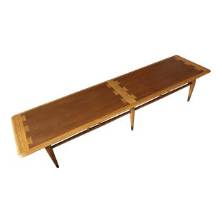 1960s Lane Mid-Century Modern Coffee Table For Sale