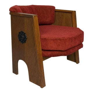 """Adrian Pearsall """"Strictly Spanish"""" for Craft Associates Octagonal Chair For Sale"""