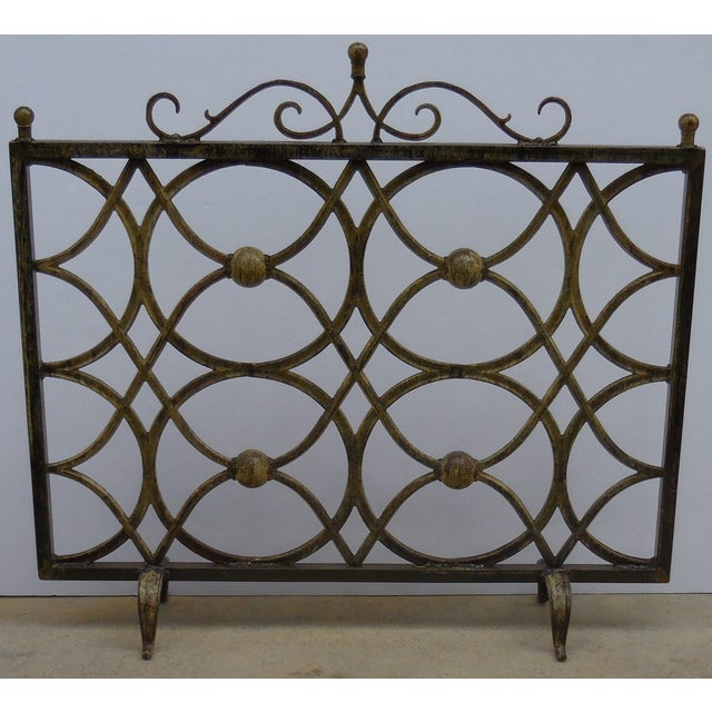 Iron Fireplace Screen - Image 2 of 11