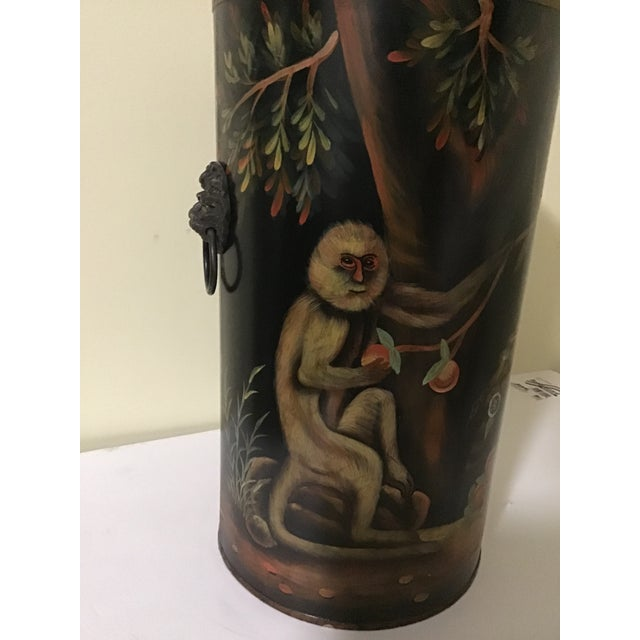 Mario Lopez Torres Style Monkey Lion Umbrella Stand For Sale In Cleveland - Image 6 of 13