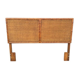 American of Martinsville Faux Bamboo Headboard