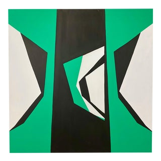 """Ulla Pedersen """"Cut-Up Canvas 2002"""", Painting For Sale"""