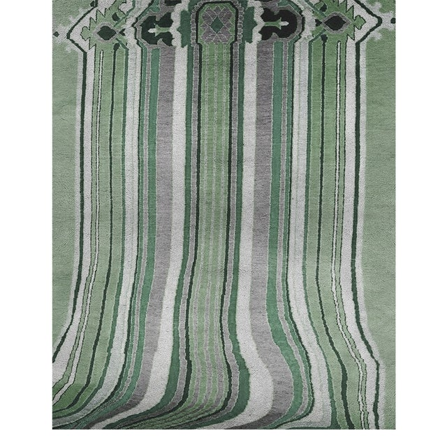 Modern Covet Paris Royalis Classic Rug - 6′7″ × 9′10″ For Sale - Image 3 of 3