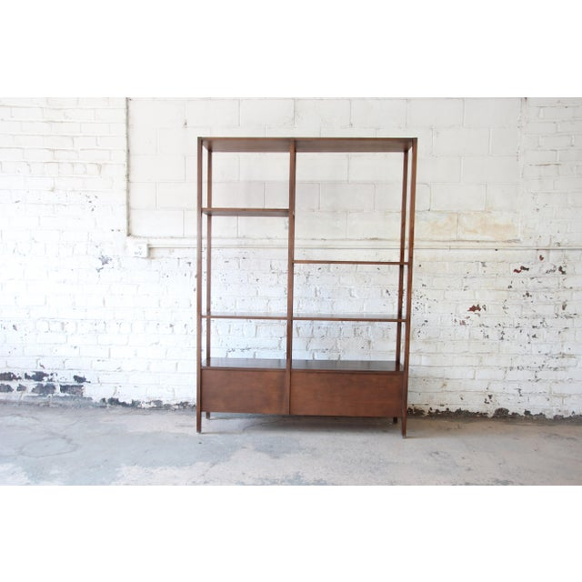 Birch Paul McCobb Planner Group Mid-Century Wall Unit or Room Divider For Sale - Image 7 of 11