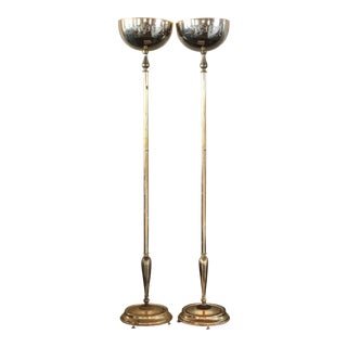 1950s a Hollywood Regency Torcheres - a Pair For Sale