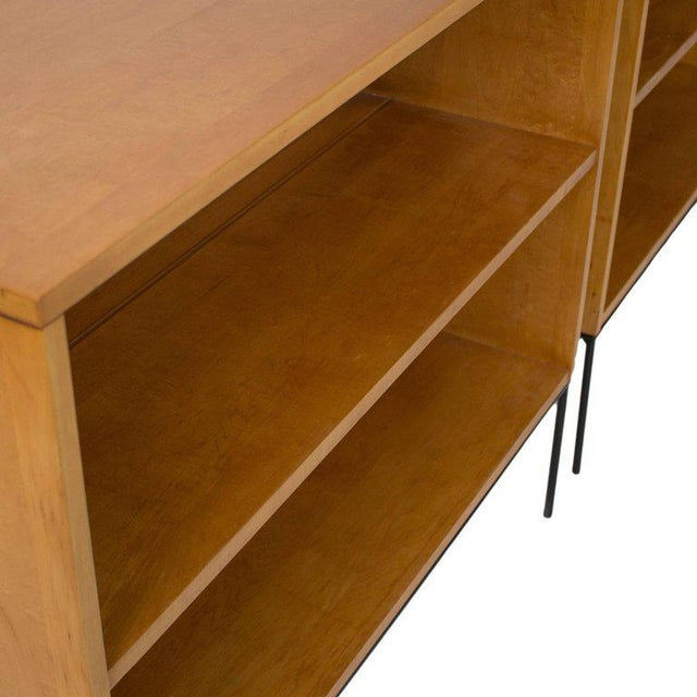 """Winchendon Furniture """"Planner Group"""" Paul McCobb Planner Group Bookcases - a Pair For Sale - Image 4 of 6"""