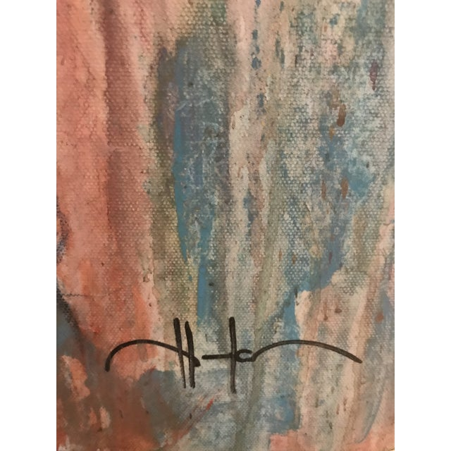 """Art Deco """"Chanel"""" Painting by Allen Kerr For Sale - Image 3 of 4"""