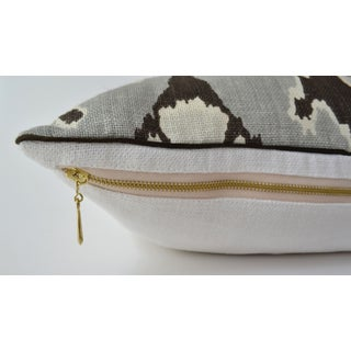Kelly Wearstler Bengal Bazaar Smoke Pillow Preview