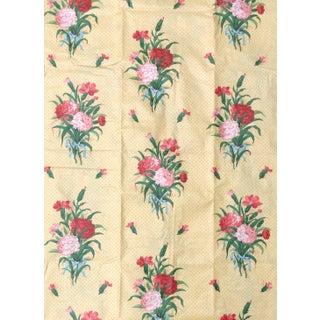 Vintage Brunschwig & Fils Glazed Chintz Fabric - 2 Yards For Sale