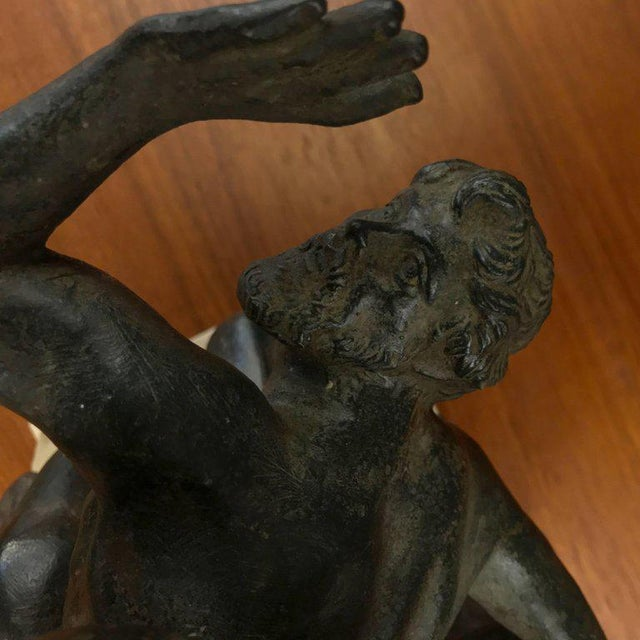 """""""Abduction of the Sabine Women"""" Metal Sculpture For Sale - Image 10 of 11"""