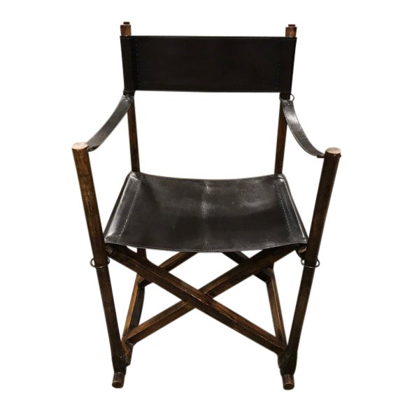1930s Vintage Mogens Koch Danish Modern Collapsible Safari Chair For Sale