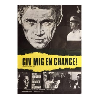 Vintage Steve McQueen Movie Poster