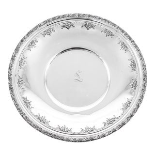 Sterling Plate For Sale