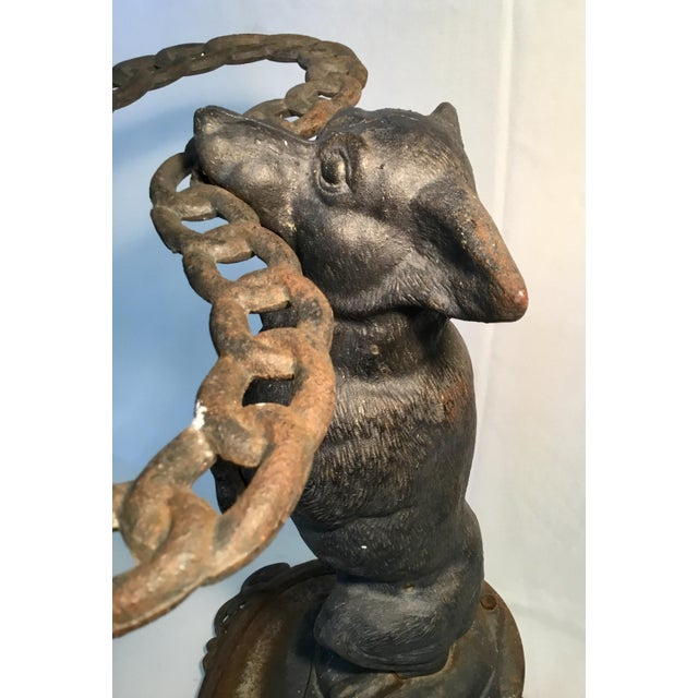 Traditional 1950s Traditional Cast Iron Corgi Umbrella Stand For Sale - Image 3 of 13