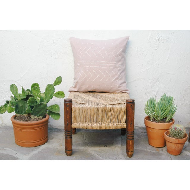 Rose Quartz Tribal Pattern Pillow Cover - Image 3 of 5