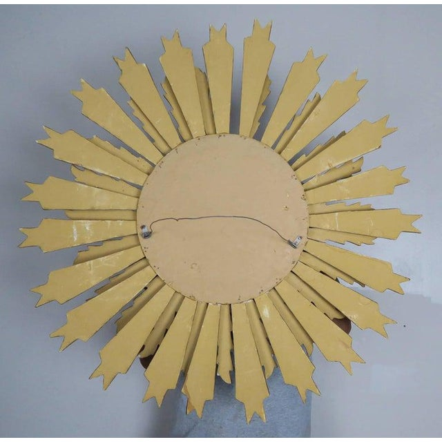 Spanish Carved Sunburst Mirror, Circa 1930 For Sale - Image 12 of 13