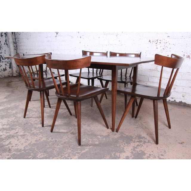Planner Group Paul McCobb Planner Group Mid-Century Modern Dining Set, Newly Restored For Sale - Image 4 of 13