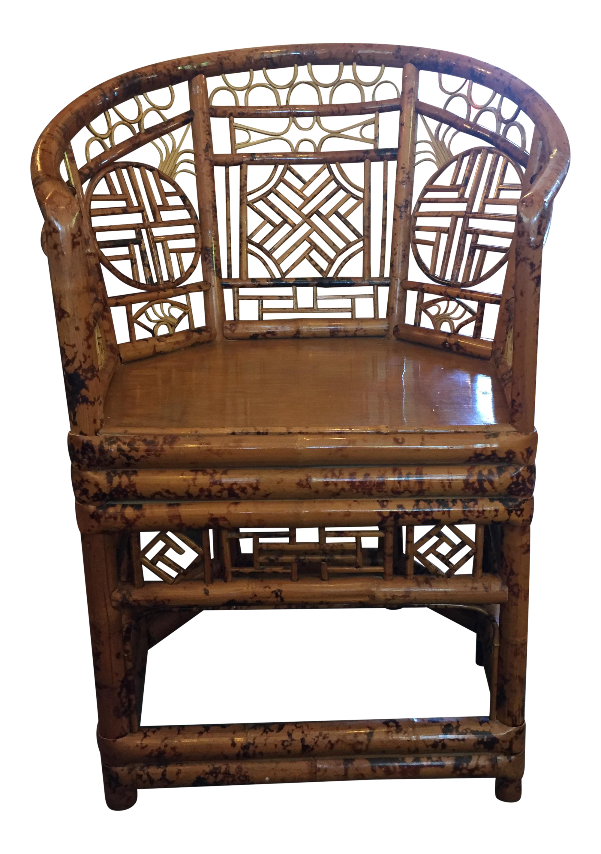 Relatively Vintage & Used Bamboo Accent Chairs | Chairish MS91