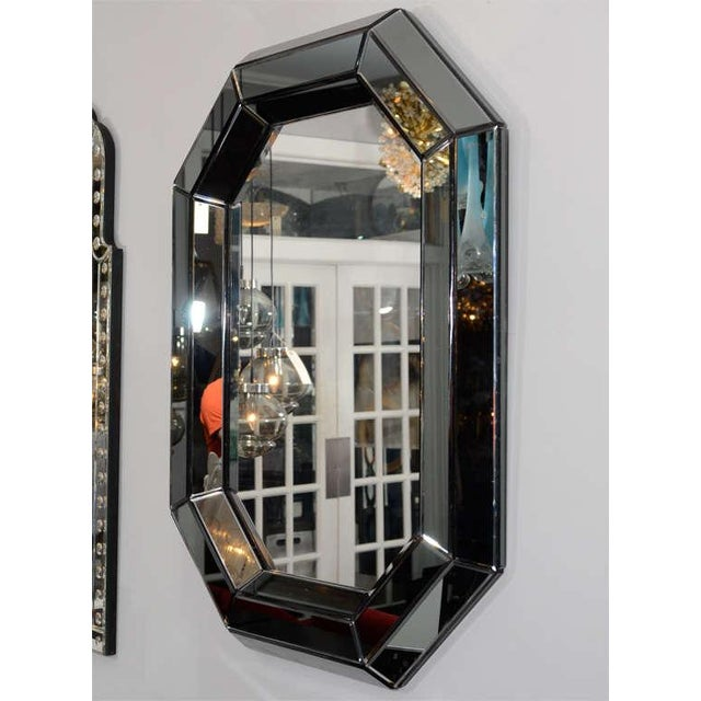 Custom Smoked Glass Mirror For Sale In New York - Image 6 of 8