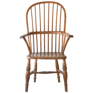 19th Century Windsor Armchair For Sale
