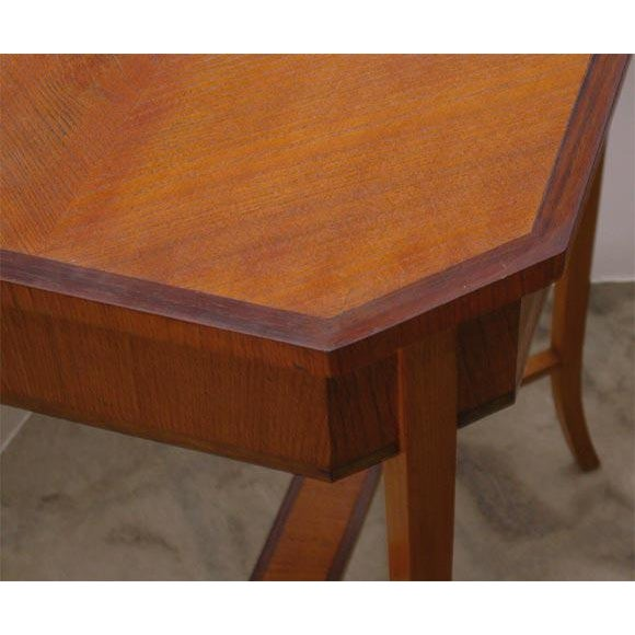 Mid-Century Modern Swedish Occasional Table For Sale - Image 3 of 7