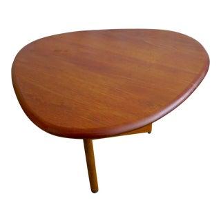 1960s Teak Custom Made Side/Coffee Table For Sale