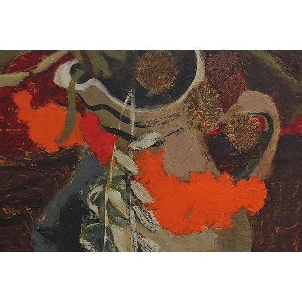 Mid Century Still Life Painting - Image 5 of 7