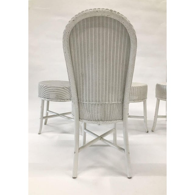1950s Woven Lloyd Loom Chairs — Set of 4 For Sale - Image 12 of 12