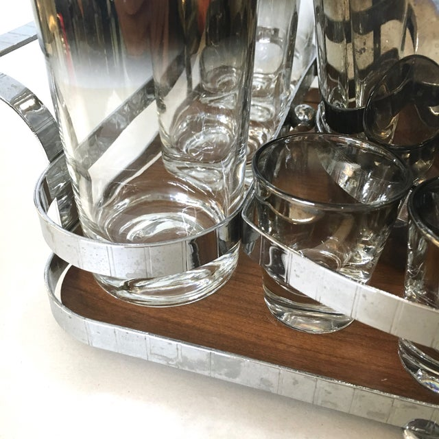 14-Piece Silver Ombre Cocktail Set - Image 5 of 5
