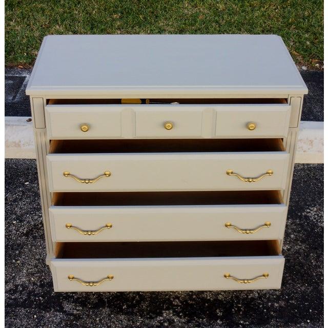 Soft Gray 4-Drawer Dresser - Image 4 of 8