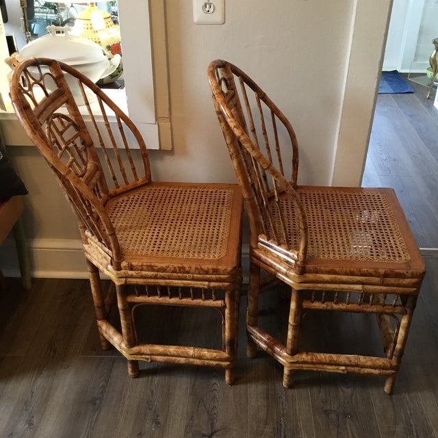 Vintage Brighton Chinese Chippendale Chairs - A Pair - Image 8 of 11