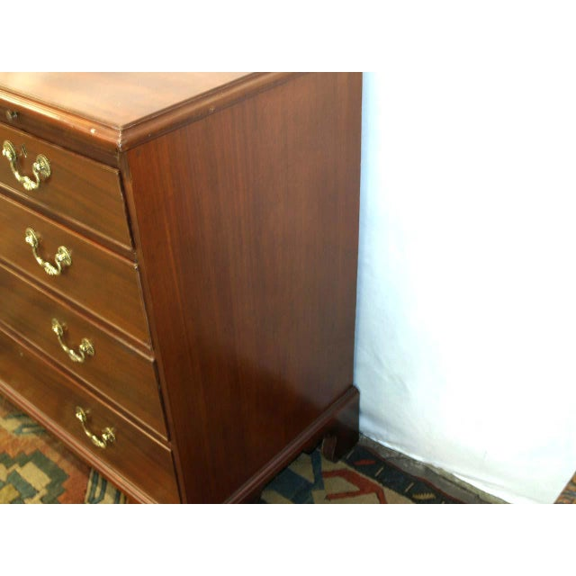 Early 19th Century 19th Century English Chippendale Chest of Drawers For Sale - Image 5 of 10