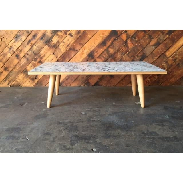 Mid-Century Formica Coffee Table - Image 4 of 7
