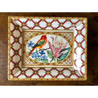 Vintage Italian Bird Fruit Plates- Set of 3 Preview