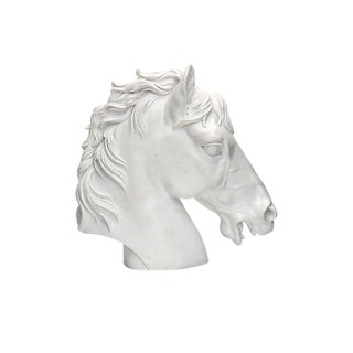Mid-Century English Horse Bust For Sale