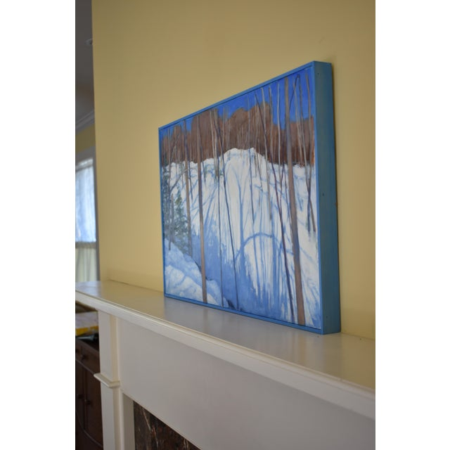 """Paint Stephen Remick """"Sunny Ridgeline"""" Contemporary Painting For Sale - Image 7 of 12"""