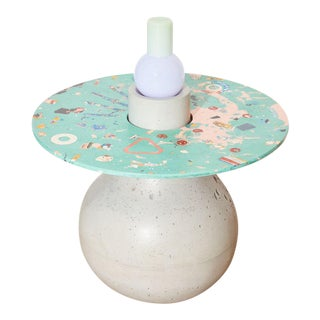 Concrete Cat Venus Chaos Table For Sale