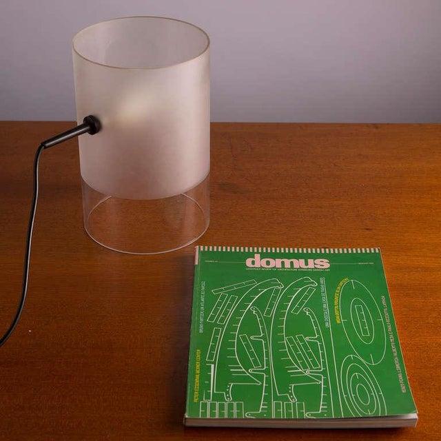 "Glass ""Fatua"" Table Lamp by Guido Rosati for Fontana Arte For Sale - Image 7 of 7"