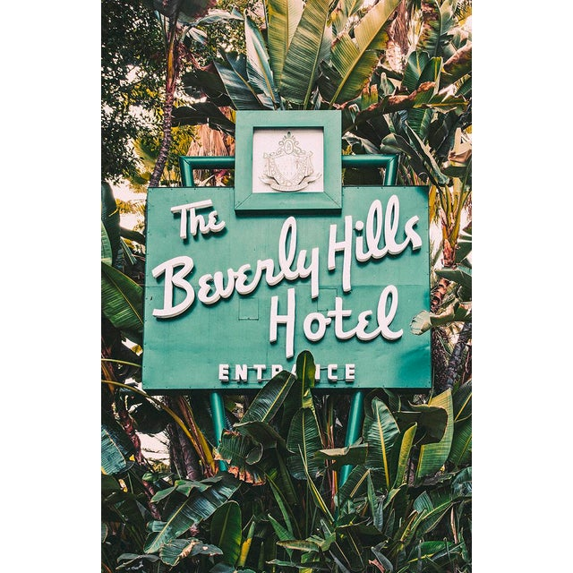 """The Beverly Hills Hotel"" Original Framed Photograph For Sale"