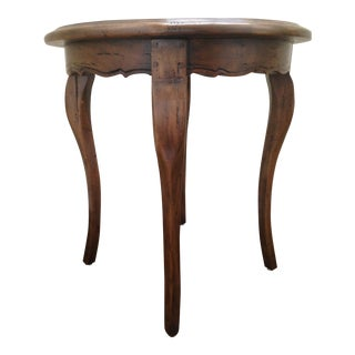 Vintage Distressed Guy Chaddock Side Table