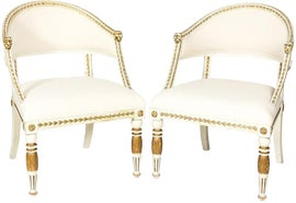 Image of Gustavian (Swedish) Accent Chairs