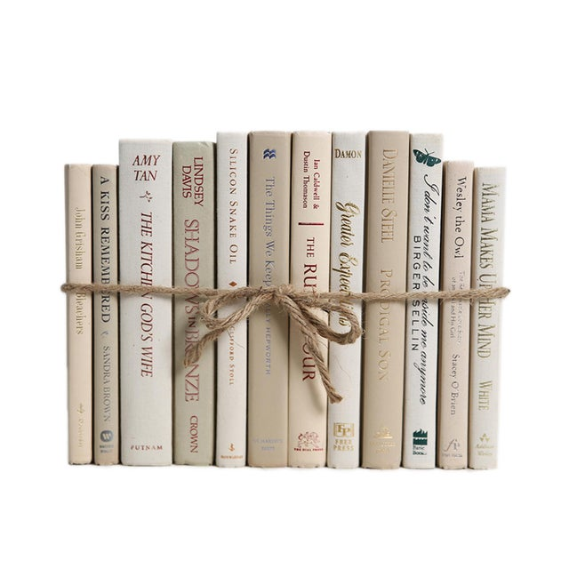 Modern Modern Beach ColorPak - Decorative Books in Neutral Shades For Sale - Image 3 of 3